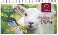 Изображение Подарочные монеты Австрия 5 евро 2017 Серебро UNC