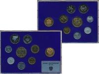 Изображение Подарочные монеты Австрия Набор 1986 года 1986  Proof