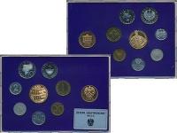 Изображение Подарочные монеты Австрия Набор 1988 года 1988  Proof Набор из семи монет