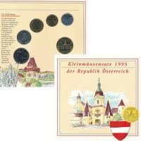 Изображение Подарочные монеты Австрия Набор 1995 года 1995  UNC