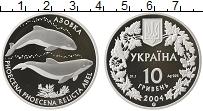 Изображение Монеты СНГ Украина 10 гривен 2004 Серебро Proof-