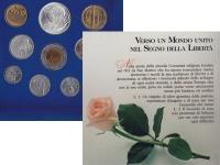 Изображение Подарочные монеты Сан-Марино Набор: В истории Европы - залог ее будущего 1993  UNC Маленькая республика