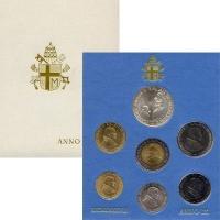 Изображение Подарочные монеты Ватикан Anno IX 1987 1987  UNC