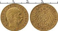 Изображение Монеты Саксония 10 марок 1898 Золото XF