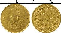 Изображение Монеты Азия Иран 1 песо 1323 Золото XF