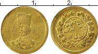 Изображение Монеты Азия Иран 1/5 томан 1301 Золото XF-