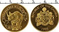 Изображение Монеты Африка Гамбия 20 даласи 1995 Золото Proof-