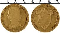 Изображение Монеты Южная Америка Колумбия 16 песо 1846 Золото XF-