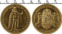 Изображение Монеты Европа Венгрия 100 крон 1908 Золото UNC-