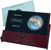 Изображение Подарочные монеты Канада 20 долларов 2006 Серебро Proof