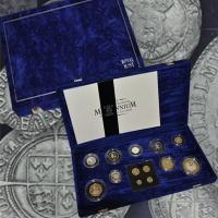 Изображение Подарочные монеты Великобритания Миллениум 2000 Серебро Proof