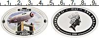 Изображение Монеты Фиджи 2 доллара 2009 Серебро Proof Британский жесткий д