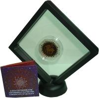 Изображение Подарочные монеты Казахстан 100 тенге 2018 Серебро Proof Знаки Зодиака - Овен