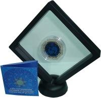 Изображение Подарочные монеты Казахстан 100 тенге 2018 Серебро Proof Знаки Зодиака - Рыбы