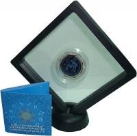 Изображение Подарочные монеты Казахстан 100 тенге 2018 Серебро Proof Знаки Зодиака - Водо