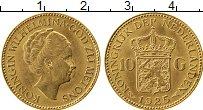 Изображение Монеты Нидерланды 10 гульденов 1925 Золото UNC-