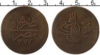 Изображение Монеты Африка Египет 20 пар 1868 Медь XF-