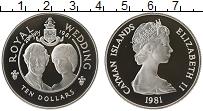 Продать Монеты Каймановы острова 10 долларов 1981 Серебро