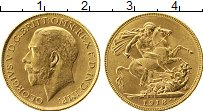 Изображение Монеты Азия Индия 1 соверен 1918 Золото UNC