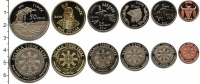 Изображение Наборы монет США Резервуация Пайн-Ридж, Оглала Сиу 2014 2014  UNC-