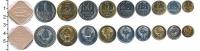 Изображение Наборы монет СССР Выпуск монет 1988 года 1988  UNC Набор монет 1988 год