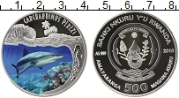 Изображение Монеты Руанда 500 франков 2010 Серебро Proof
