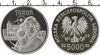 Изображение Монеты Польша 5000 злотых 1989 Серебро Proof-
