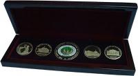 Изображение Подарочные монеты Узбекистан Главная избирательная комиссия Узбекистана 2016 Латунь UNC