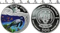 Изображение Монеты Африка Руанда 500 франков 2010 Серебро Proof
