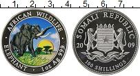 Изображение Монеты Африка Сомали 100 шиллингов 2009 Серебро Proof