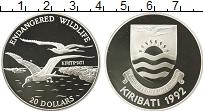 Изображение Монеты Австралия и Океания Кирибати 20 долларов 1992 Серебро Proof