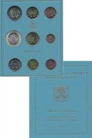 Изображение Подарочные монеты Ватикан 10 евро 2019  UNC Евронабор (набор из