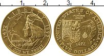 Изображение Монеты Северная Америка США 5 долларов 1992 Золото UNC