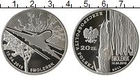 Изображение Монеты Польша 20 злотых 2011 Серебро Proof Смоленск 10.04.2010