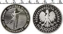 Изображение Монеты Европа Польша 300000 злотых 1993 Серебро Proof