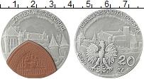 Изображение Монеты Польша 20 злотых 2002 Серебро UNC