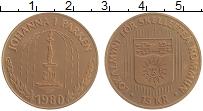 Изображение Монеты Швеция 15 крон 1980 Медь UNC- Городские деньги