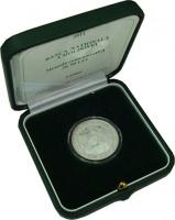 Изображение Подарочные монеты Молдавия Красная книга - Колпица 2011 Серебро Proof