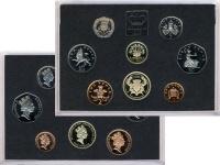 Изображение Подарочные монеты Великобритания Выпуск монет 1986 1986  Proof Подарочный набор Вел
