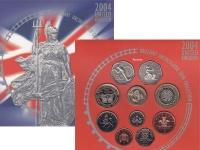 Изображение Подарочные монеты Великобритания Регулярный выпуск 2004 2004  Proof