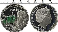 Изображение Монеты Великобритания Остров Джерси 5 фунтов 2002 Серебро Proof