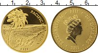 Изображение Монеты Фиджи 200 долларов 2011 Золото Proof-