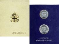Изображение Подарочные монеты Ватикан Anno Santo 1983 - 1984 1984 Серебро UNC В наборе две серебря