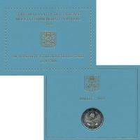 Изображение Подарочные монеты Ватикан 2 евро 2019 Биметалл UNC 90-летие учреждения