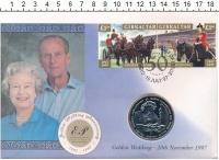 Изображение Подарочные монеты Гибралтар 1 крона 1997 Медно-никель UNC