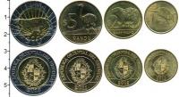 Изображение Наборы монет Уругвай Уругвай 2011-2014 0  UNC В наборе 4 монеты но