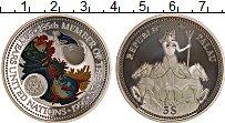 Изображение Монеты Палау 5 долларов 1995 Серебро Proof 50 лет ООН, Защита м