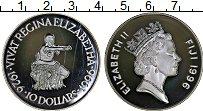 Изображение Монеты Фиджи 10 долларов 1996 Серебро Proof