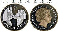 Продать Монеты Каймановы острова 5 долларов 2006 Серебро