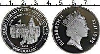 Изображение Монеты Фиджи 10 долларов 1995 Серебро Proof Елизавета II королев